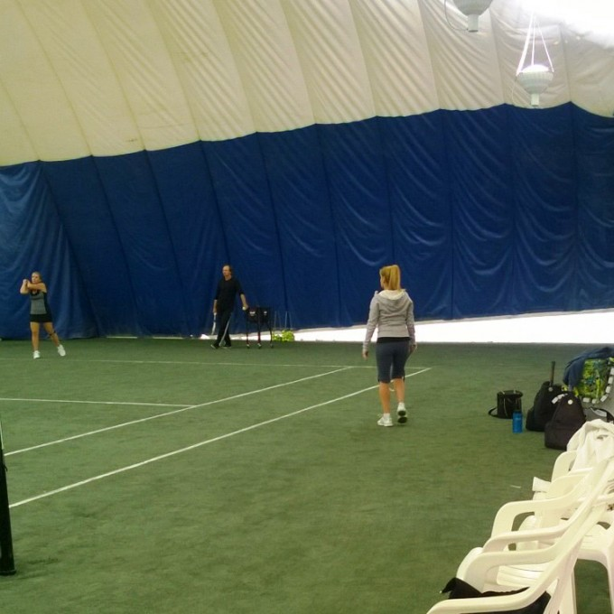 Indoor Clay Courts